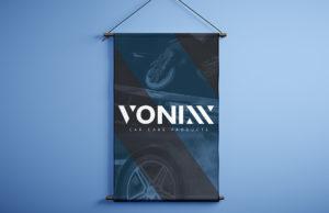 Banner institucional azul